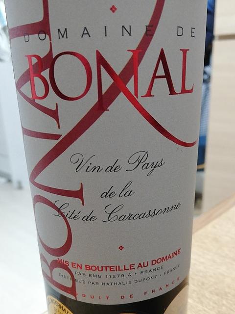 Dom. de Bonal Cité de Carcassonne Rouge(ドメーヌ・ド・ボナル シテ・ド・カルカッソンヌ)