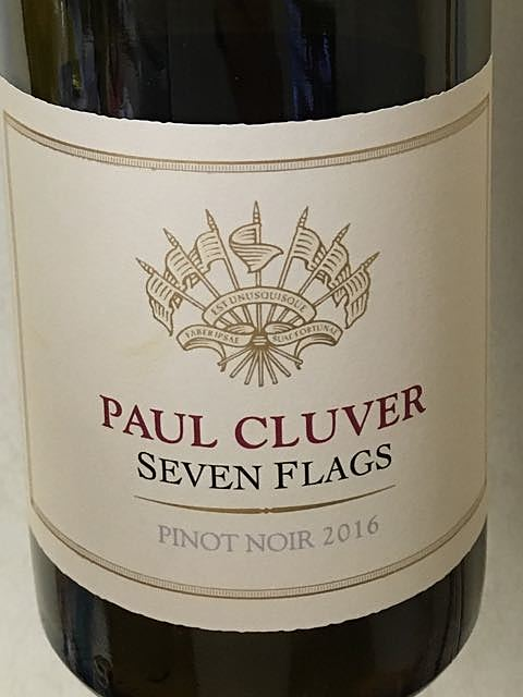 Paul Cluver Seven Flags Pinot Noir