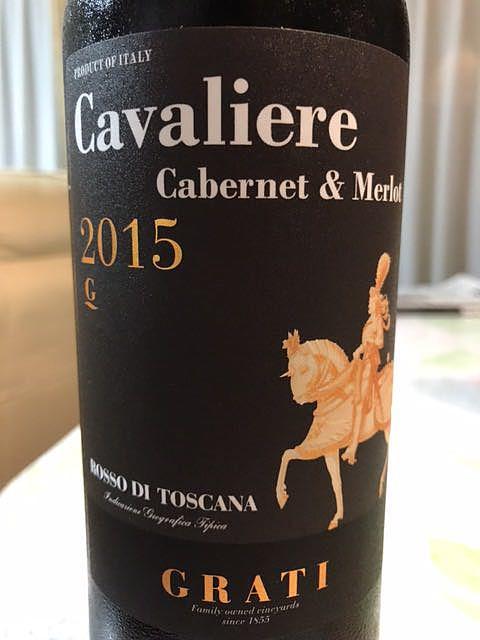 Grati Cavaliere Cabernet & Merlot(グラーティ カヴァリエーレ カベルネ メルロー)