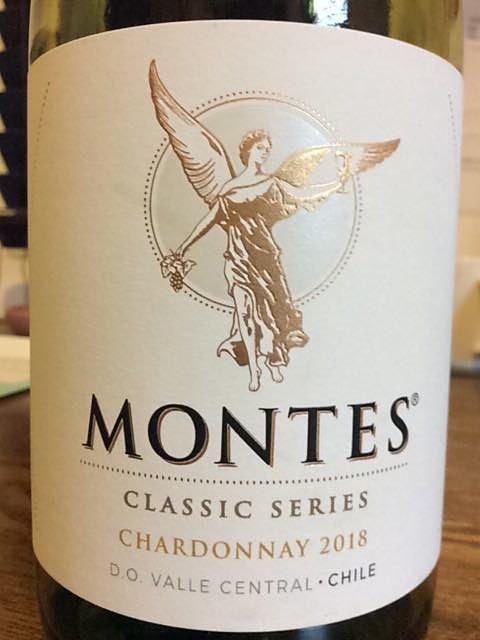 Montes Classic Series Chardonnay(モンテス クラシック・シリーズ シャルドネ)
