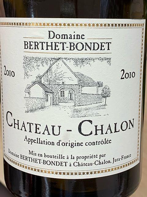 Dom. Berthet Bondet Château Chalon(ドメーヌ・ベルテ・ボンデ シャトー・シャロン)