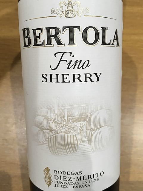Bertola Fino Sherry
