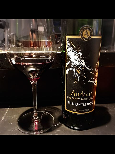 Audacia Cabernet Sauvignon No Sulfites Added(アウダシア カベルネ・ソーヴィニヨン)