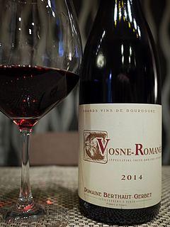 Dom. Berthaut Gerbet Vosne Romanée(ドメーヌ・ベルト・ジェルベ ヴォーヌ・ロマネ)
