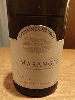 Dom. Chevrot Maranges Blanc(ドメーヌ・シュヴロ マランジュ ブラン)