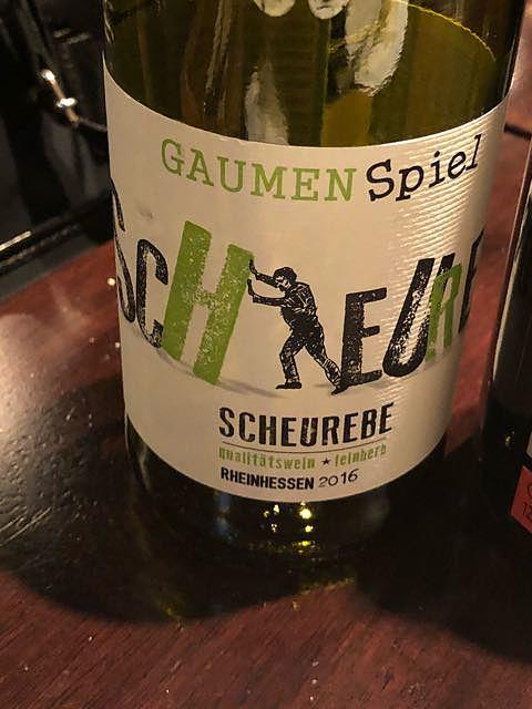 GaumenSpiel Scheurebe (Rheinhessen)