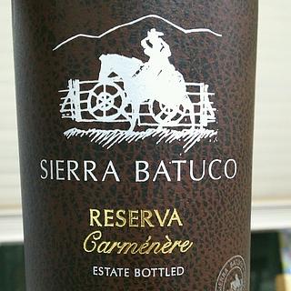 Sierra Batuco Reserva Carménère