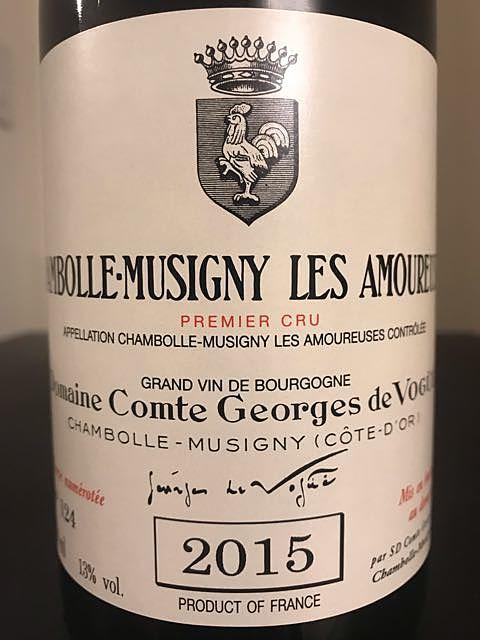 Dom. Comte Georges de Vogüé Chambolle Musigny 1er Cru Les Amoureuses