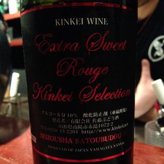 Kinkei Wine Extra Sweet Rouge Kinkei Selection