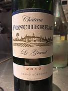 Ch. Fonchereau Le Grand