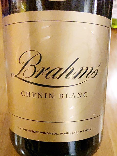 Brahms Chenin Blanc