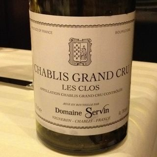 Dom. Servin Chablis Grand Cru Les Clos