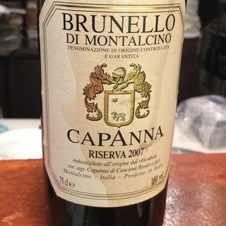 Capanna Brunello di Montalcino Riserva
