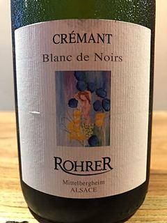 Rohrer Crémant Blanc de Noir(ロレール クレマン ブラン・ド・ノワール)