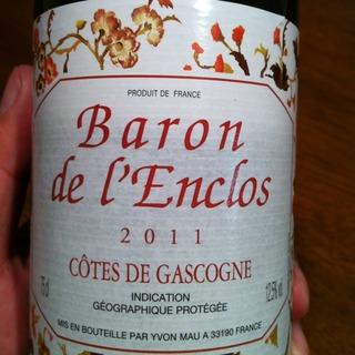 Baron de l'Enclos Côtes de Gascogne Rouge