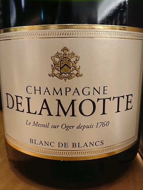 Delamotte Blanc de Blancs(ドゥラモット ブラン・ド・ブラン)
