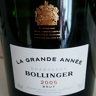 Bollinger La Grande Année Brut(ボランジェ・ラ・グランダネ ブリュット)