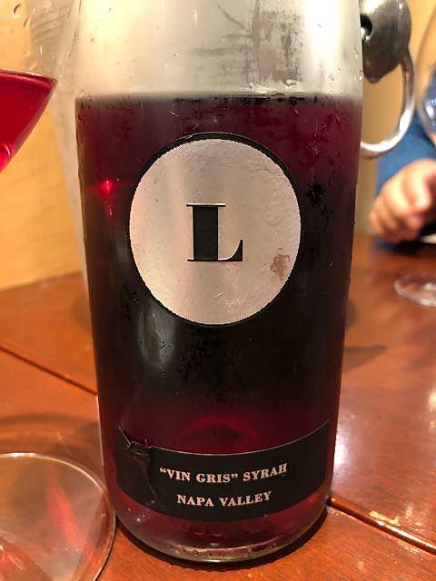 Lewis Cellars Vin Gris Syrah