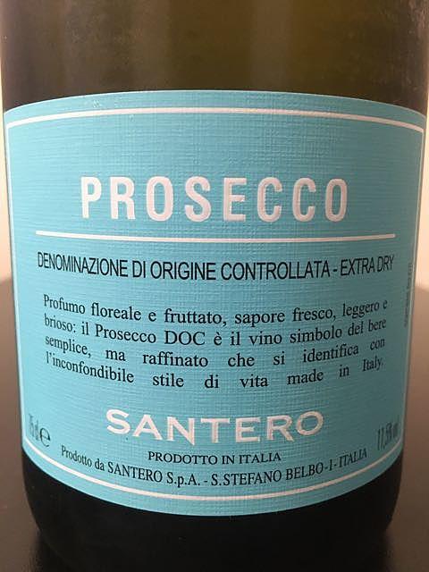 Santero Prosecco Spumante Extra Dry
