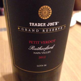 Trader Joe's Grand Reserve Rutherford Petit Verdot