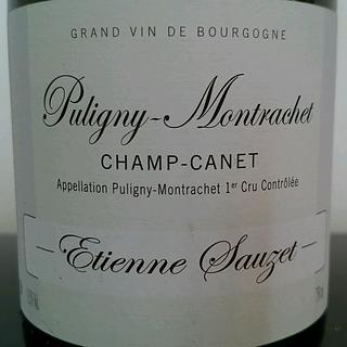 Etienne Sauzet Puligny Montrachet 1er Cru Champ Canet