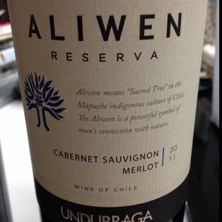 Undurraga Aliwen Reserva Cabernet Sauvignon Merlot