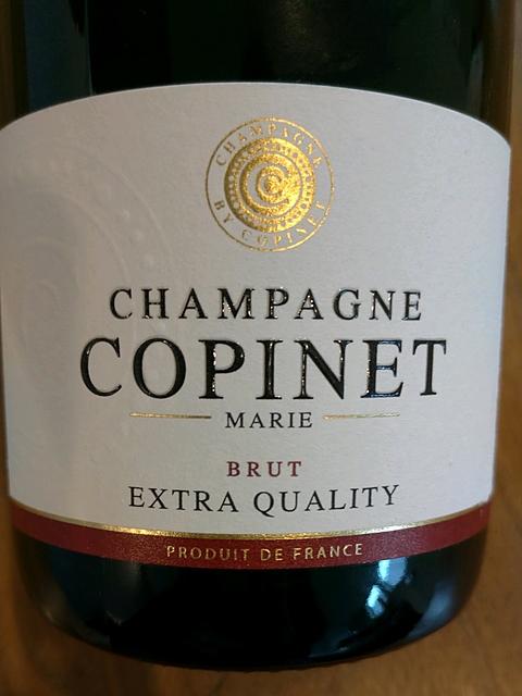 Marie Copinet Brut Extra Quality(マリー・コピネ ブリュット エクストラ・クオリティ)