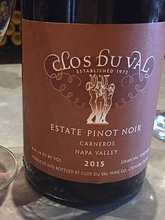 Clos Du Val Estate Pinot Noir Gran Val Vineyard