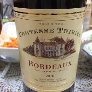 Comtesse Thibier Bordeaux