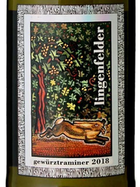 Lingenfelder Hare Label Gewürztraminer(リンゲンフェルダー ヘア・ラベル ゲヴュルツトラミナー)