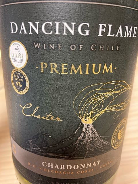 Dancing Flame Premium Chardonnay(ダンシング・フレイム プレミアム シャルドネ)