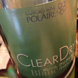 Polaire Clear Dry Blanc