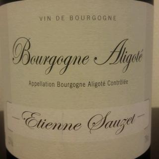 Etienne Sauzet Bourgogne Aligoté