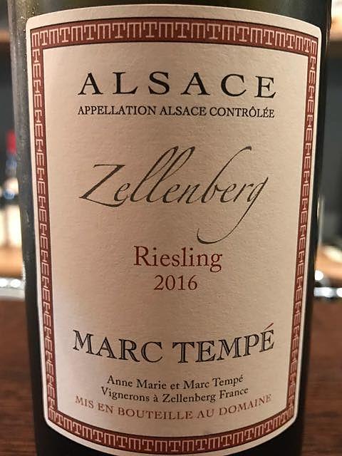 Marc Tempé Riesling Zellenberg
