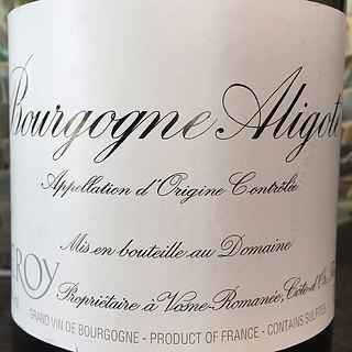 Dom. Leroy Bourgogne Aligoté