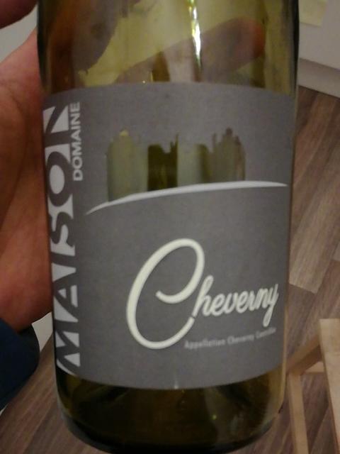Dom. Maison Cheverny Blanc(ドメーヌ・メゾン シュヴェルニー ブラン)