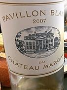 パヴィヨン・ブラン・デュ・シャトー・マルゴー(2007)