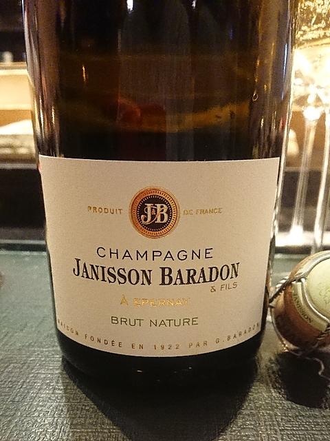 Janisson Baradon Brut Nature(ジャニソン・バラドン ブリュット・ナチュール)