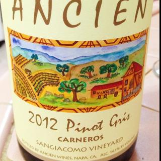 Ancien Sangiacomo Vineyard Carneros Pinot Gris
