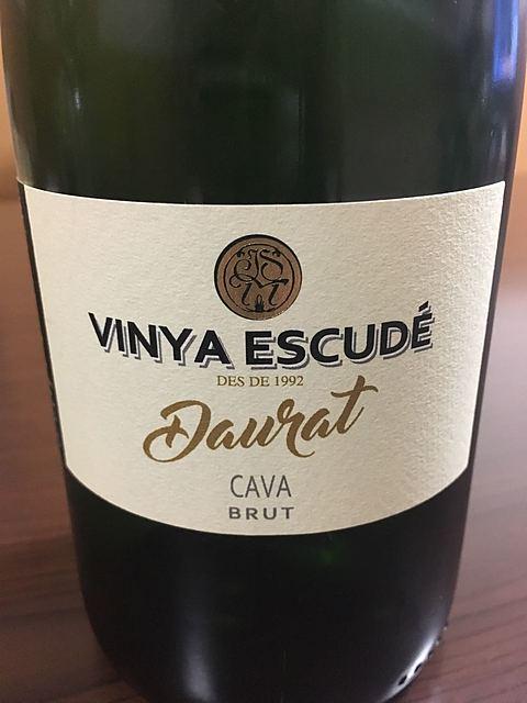 Vinya Escudé Daurat Cava Brut(ヴィーニャ・エスクード ダウラット カヴァ ブリュット)