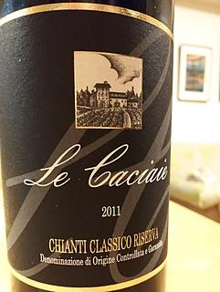 Le Caciaie Chianti Classico Riserva(レ・カチャイエ キアンティ・クラッシコ リゼルヴァ)