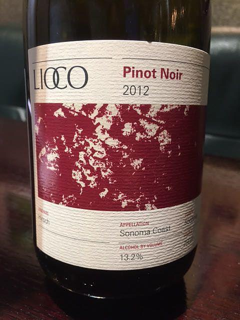 Lioco Hirsch Pinot Noir Sonoma Coast