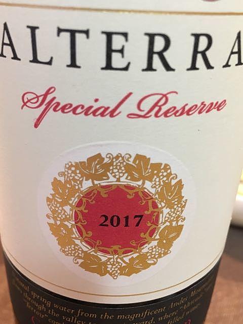 Alterra Special Reserve Carmenère