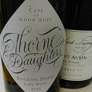 Thorne & Daughters Rocking Horse Cape White 2013(ソーン&ドーターズ ロッキング・ホース ケープ・ホワイト)