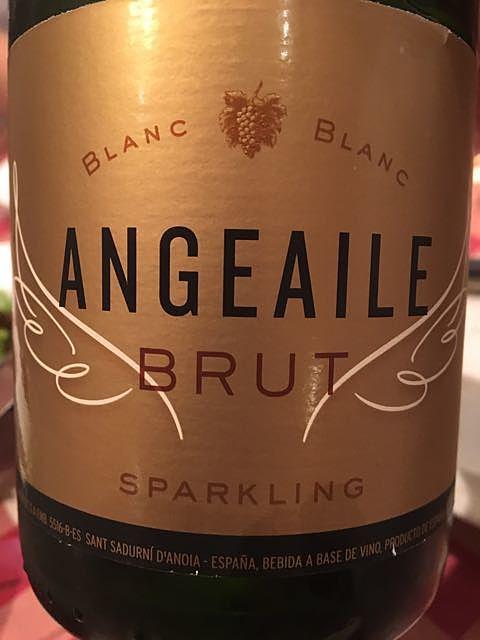 Angeaile Sparkling Brut(アンジュエール スパークリング ブリュット)