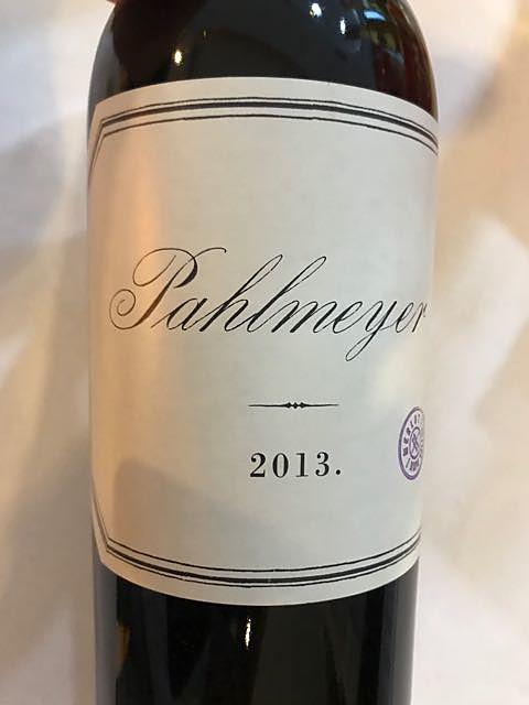 Pahlmeyer Merlot