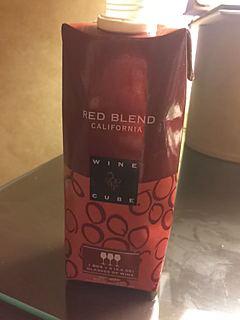 Wine Cube California Red Blend(ワイン・キューブ カリフォルニア レッド・ブレンド)