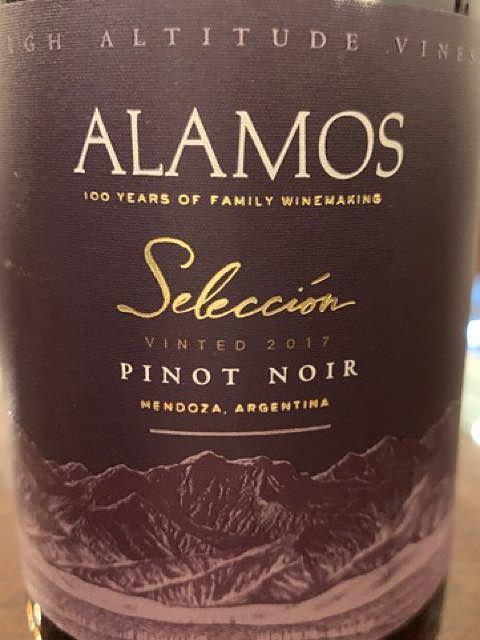 Alamos Selección Pinot Noir(アラモス セレクション ピノ・ノワール)