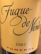 フューグ・ド・ネナン(2007)