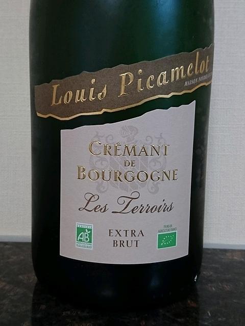 Louis Picamelot Crémant de Bourgogne Les Terroir Extra Brut(ルイ・ピカメロ クレマン・ド・ブルゴーニュ レ・テロワール エクストラ・ブリュット)